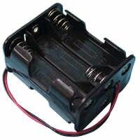 500 pièces/lot MasterFire 6 AA 2A piles dos à dos support boîte de rangement avec fils fils 6 fentes bricolage Clip batterie boîte de support