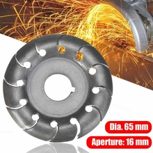 Wood-Carving-Disc Blade Bore 65mm for 16-Mm Electric-Angle-Grinder