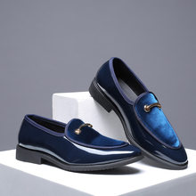 mens leather loafers men shoes 2019 Men Casual shoes suede loafers Office Shoes For Men Driving Moccasins Slip on Fashion Shoes(China)