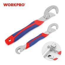 WORKPRO Chiave Regolabile Spanner Set Multi-Funzione Universale Quick Snap Soft Grip