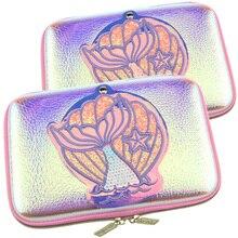 Kawaii schule bleistift fall stift boxen schönheit mädchen spiegel schreiben fall eva lagerung box verfärbung mascarillas schreibwaren tasche