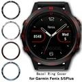 Нержавеющая сталь Часы Ободок кольцо для Garmin Fenix 5/5 плюс клейкая крышка защита от царапин кольцо