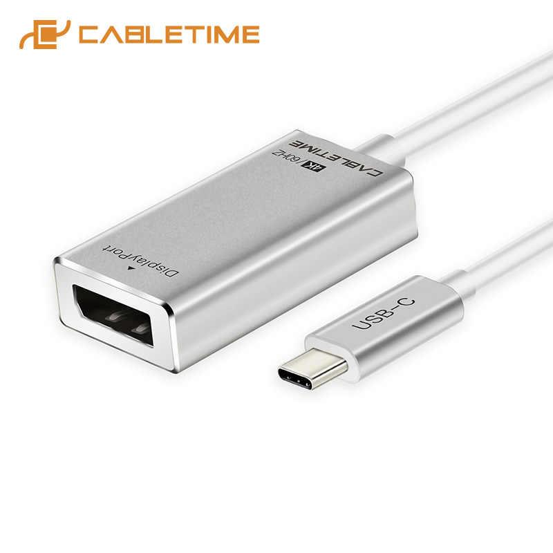 كابل USB C إلى Displaypor محول 4K 60Hz نوع C إلى DP M/F محول ل HDTV سامسونج غالاكسي s9 USB 3.1 ديسبلايبورت C035