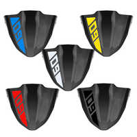 For Yamaha MT 09 FZ 09 MT09 FZ09 2017 2018 2019 Windscreen Windshield Deflector Motorcycle Accessories Wind Screen 5 Stickers