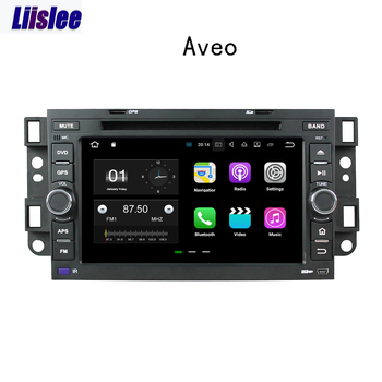 Liislee 2 din Android Car Navigation GPS For Chevrolet Aveo T200 2002~2011 Auto Radio Stereo Multimedia Big Screen Player image