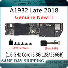 New Laptop A1932 2018 2019 Logic Board i5 1.6GHz 8GB 128/256GB 820-01521-A/02 for Macbook