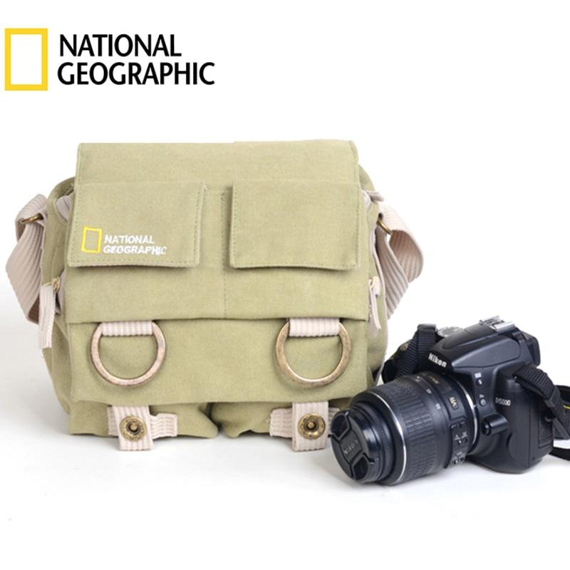 National Geographic Photography Bag NG2345 SLR Digital Camera Single Shoulder Bag Universal For Nikon Canon WithWaterproof Cover