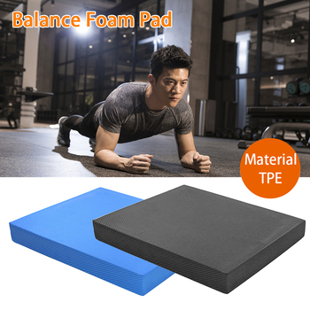 Non Slip Soft TPE Gym For Physical Therapy Balance Foam Pad Stability Workout Exercise Mat Strength Training Yoga Chair Cushion 1