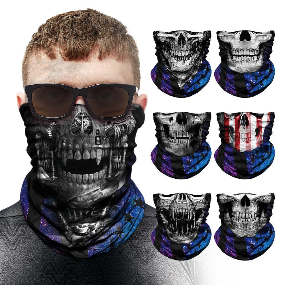 Deadpool maska motocyklowa Venom anonimowy pałąk czaszka komin rowerowy motocykl magiczna bandana Punisher ocieplacz na szyję