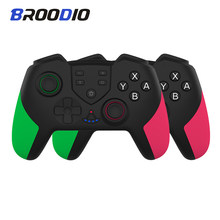 Wireless Gamepad Vibration Gyroscope Wireless Joystick for Nintendo Switch Rechargeable bluetooth Gamepad Controller Accessories