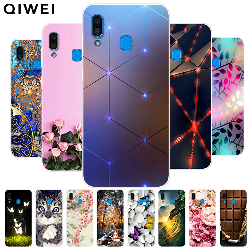 6.4'' Coque for Samsung A30 Case Silicone Soft TPU Back Case For Samsung Galaxy A30 A 30 A20 A30S Phone Cover Cases Funda 2019 image