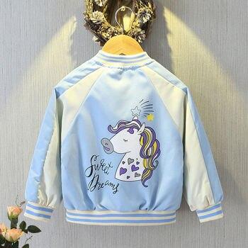 Unicorn Jacket for Girls Blue Beauty 1