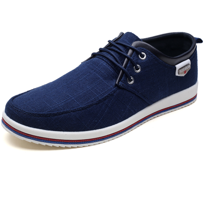 Men Canvas Fashion Sneakers Men Casual Shoes Zapatillas Hombre Footwear Male Walking Shoes Outdoor Man Flats Designer Shoes 2019 in Men 39 s Casual Shoes from Shoes