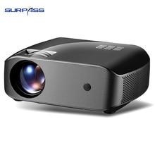 HD 720P LED Laser Projector Support Full HD WIFI Bluetooth 2800 Lumens HDMI USB Port Laser Projectors
