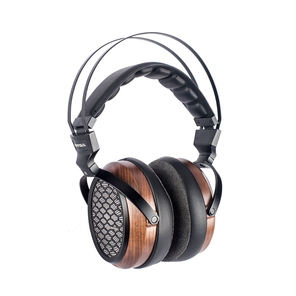 SIVGA P-Ⅱ Over Ear Open Back Walnut Wood Planar Magnetic Headphone