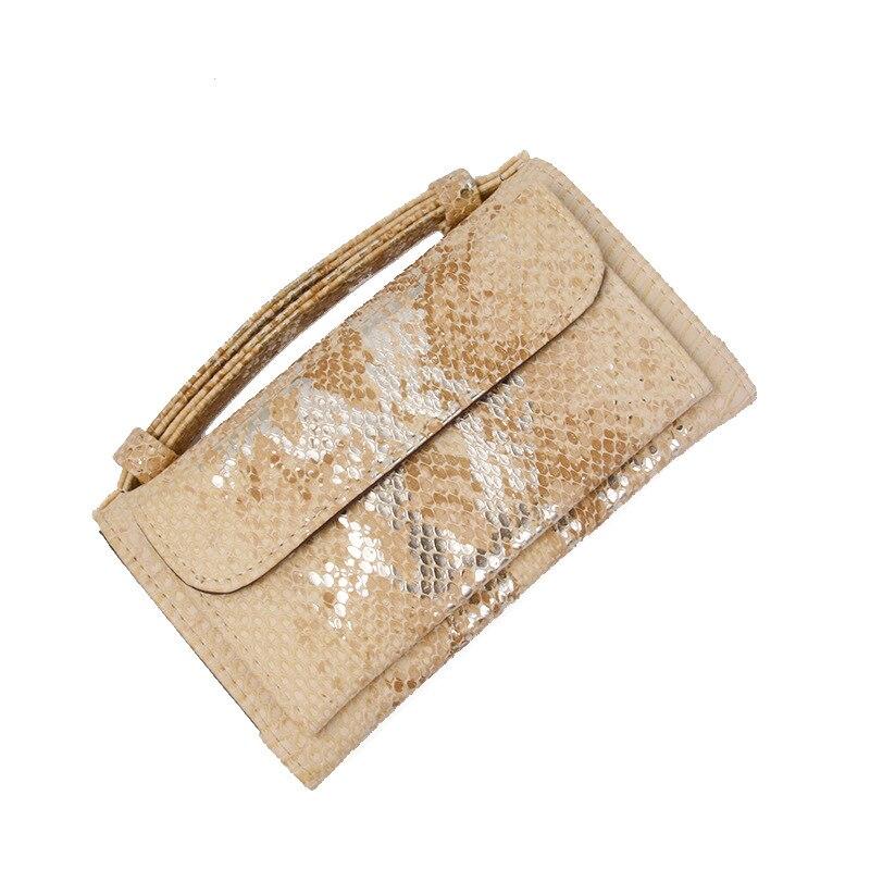 bolsa de embreagem feminina corrente cobra bolsa