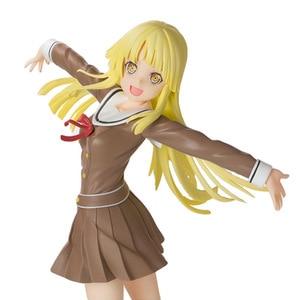 Image 1 - Anime 1/8 échelle peint Figure BanG rêve! Fête des filles! Bonjour Ver du monde heureux. Jouet figurine en PVC Kokoro Tsurumaki 21CM