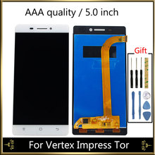 LCD Display For Vertex Impress Tor LCD Display Screen With Touch Screen Complete For Vertex Impress Tor Display Screen строп tor wll4 0t 5 m