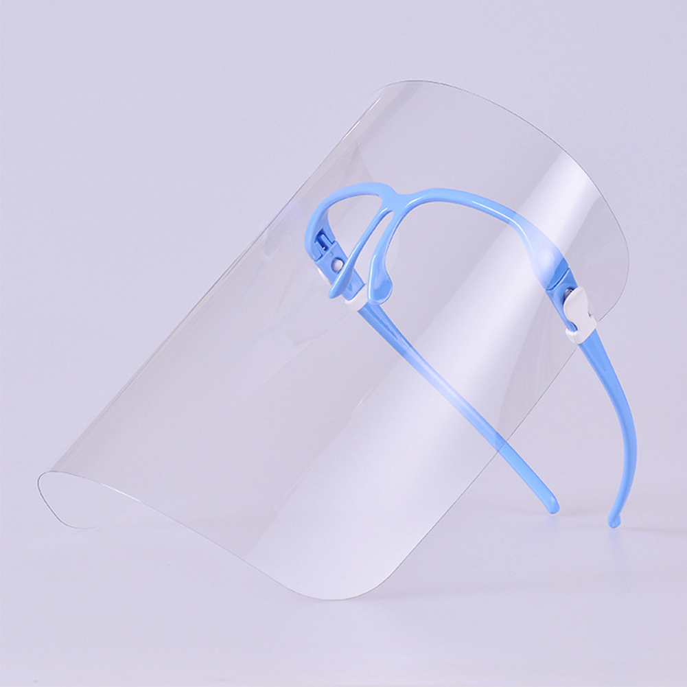 Face Protection Kitchen Mask Tool Transparent Gadget Durable Safe Oil Splash Proof Practical Home House Clean Cooking Dustproof