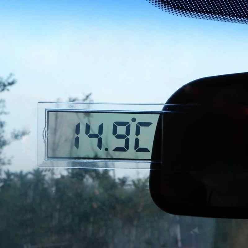 Termómetro de coche tipo osculo-20 a 110 grados Celsius LCD montado en vehículo Digital termómetro centígrado Fahrenheit