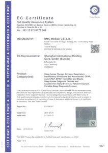 Image 5 - DOCTODD CPAP Auto CPAP G2S C20/A20 Mini ventilateur Portable pour lapnée du ronflement du sommeil avec masque gratuit tuyau humidificateur