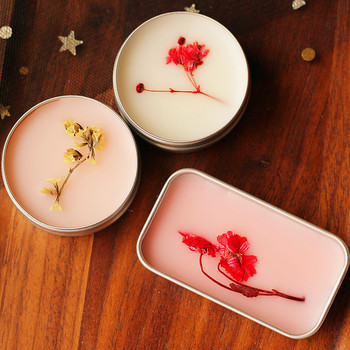 15g Plant Solid Peach Balm Ancient Style Perfume Men and Women Lasting Light Fragrance Milk Strawberry Portable Balm