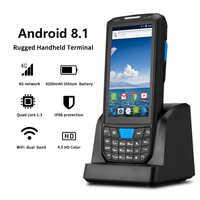 IssyzonePOS portable PDA Android 8.1 Terminal de position robuste 1D 2D lecteur de codes à barres WiFi 4G Bluetooth GPS PDA lecteur de codes à barres