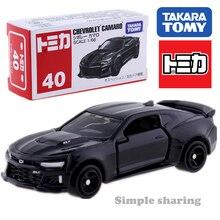 Takara Tomy Tomica – Chevrolet Camaro, jouet Miniature de collection, moulé sous pression, No.40 GM, noir 1/66, Alien, 2018