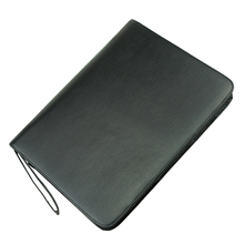 Real Leather Pen Case for 46 Fountain Pens Cowhide Pencil Bag Black Coffee Pen Holder for Rollerball Ballpoint Fit Various Size