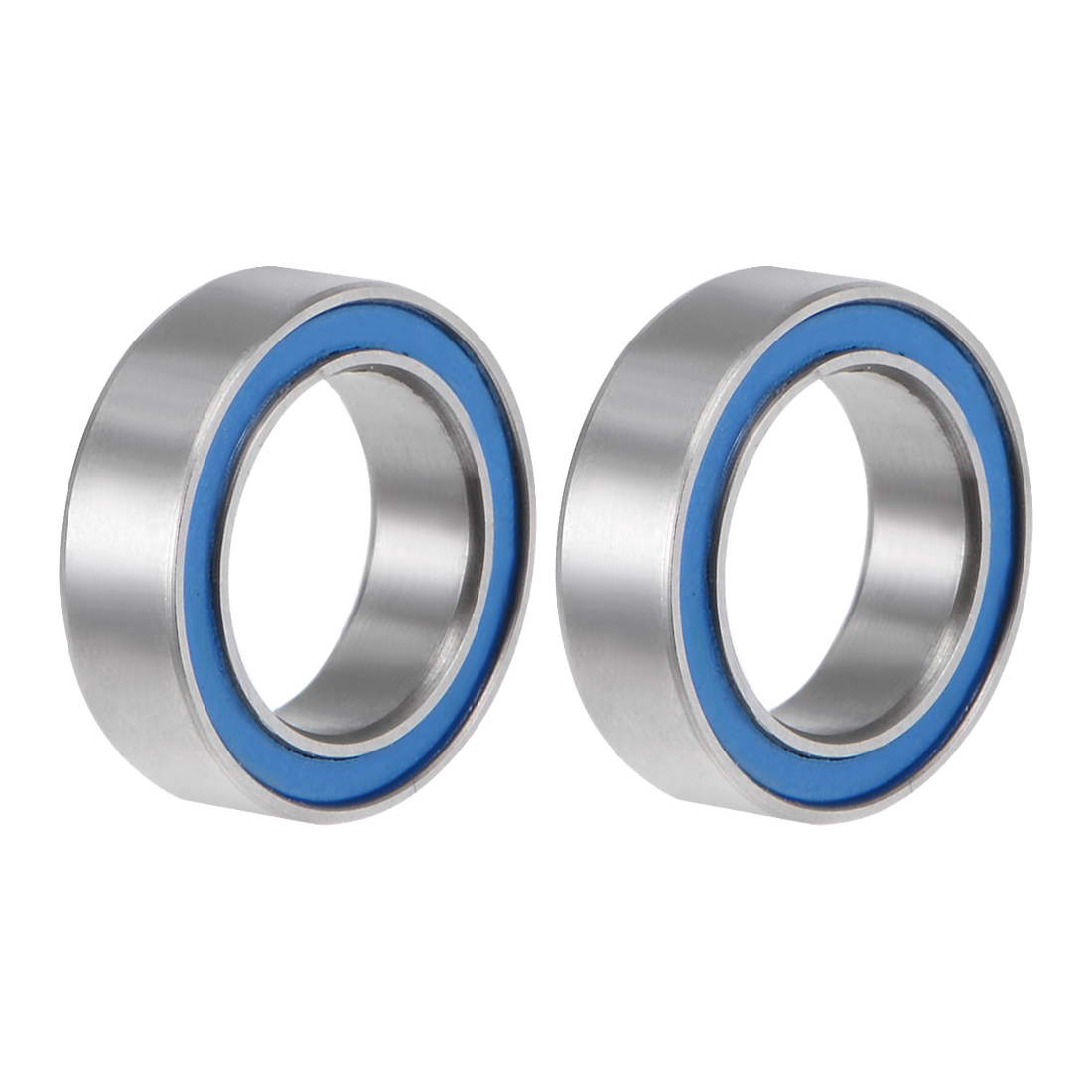 Uxcell MR128-2RS Ball Bearing 8x12x3.5mm Double Sealed ABEC-3 Bearings 2pcs