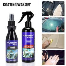 Car Care Plastic Plating Kit Aging Reparatie Vloeistof Plastic Onderdelen Verminderen Vernieuwing Middel Galvaniseren Coating Polijsten Voor Auto