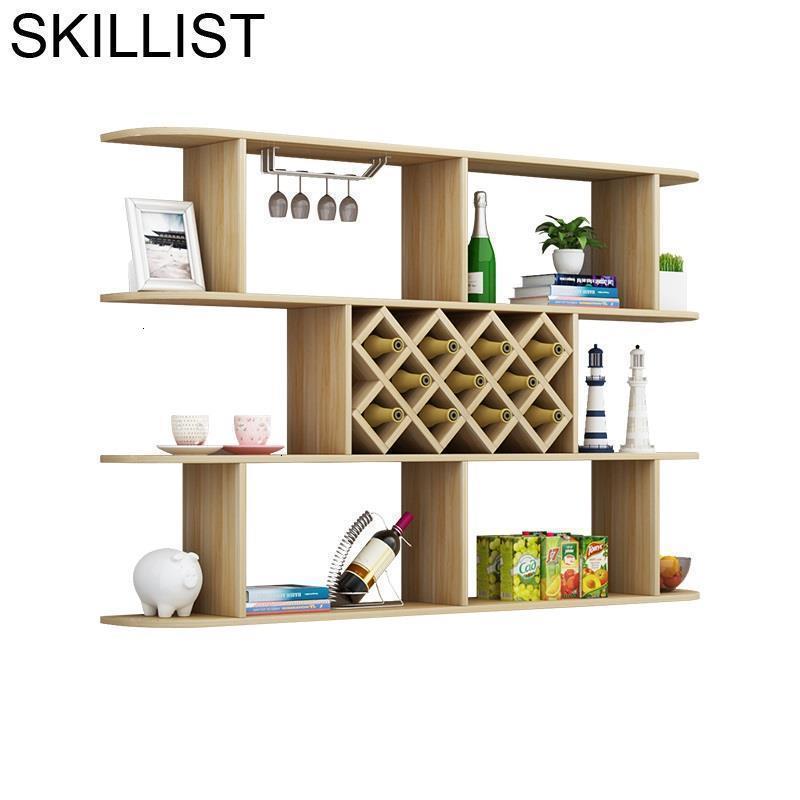 Storage Table Kitchen Rack Gabinete Living Room Cristaleira Hotel Mesa Commercial Furniture Shelf Mueble Bar Wine Cabinet