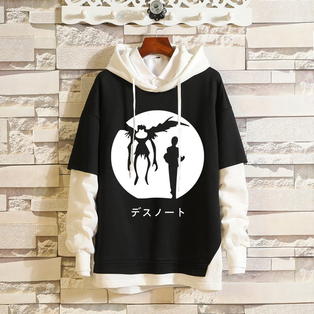 DEATH NOTE THEMED PULLOVER HOODIE (10 VARIAN)