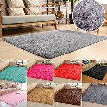 Flauschigen Teppiche Anti-Skid Shaggy Bereich Teppich Teppich Esszimmer Teppich Boden Matte Hause Schlafzimmer 80x120cm