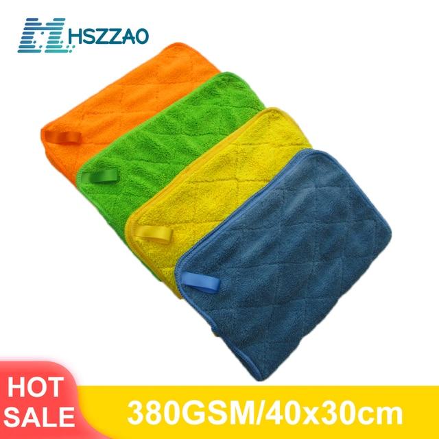 Auto Detaillering 40x30cm Auto Wassen Doek Microfiber Handdoek Car Cleaning Rag Voor Cars Dikke Microfiber Voor car Care Keuken