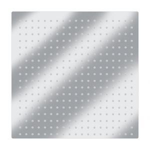 Image 5 - 16in مربع الكروم الفولاذ المقاوم للصدأ الأمطار دش رئيس قابل للتعديل الروتاري الحمام العلوي البخاخ صنبور رئيس