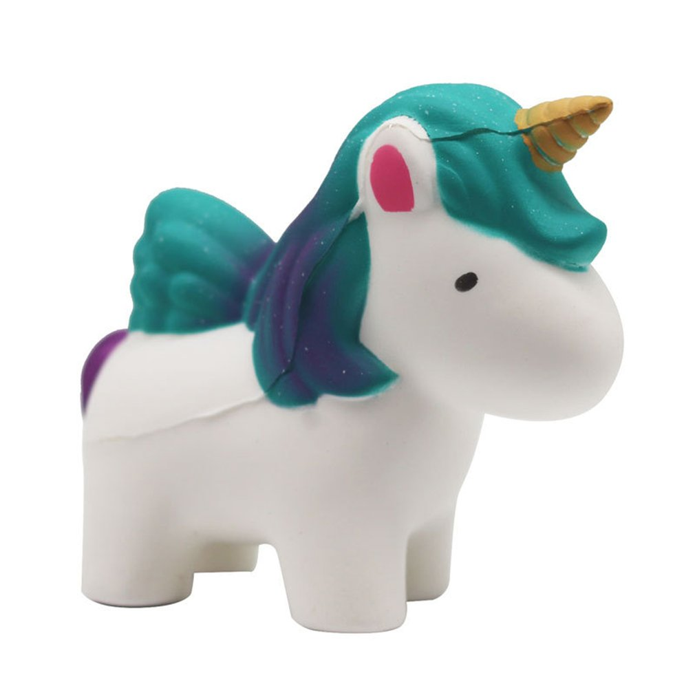 Simulated Flying Horse Unicorn Slow Rising Antistress Squishys Toys For Hands Gift For Kids Adults Squish Relieves Stress Toy