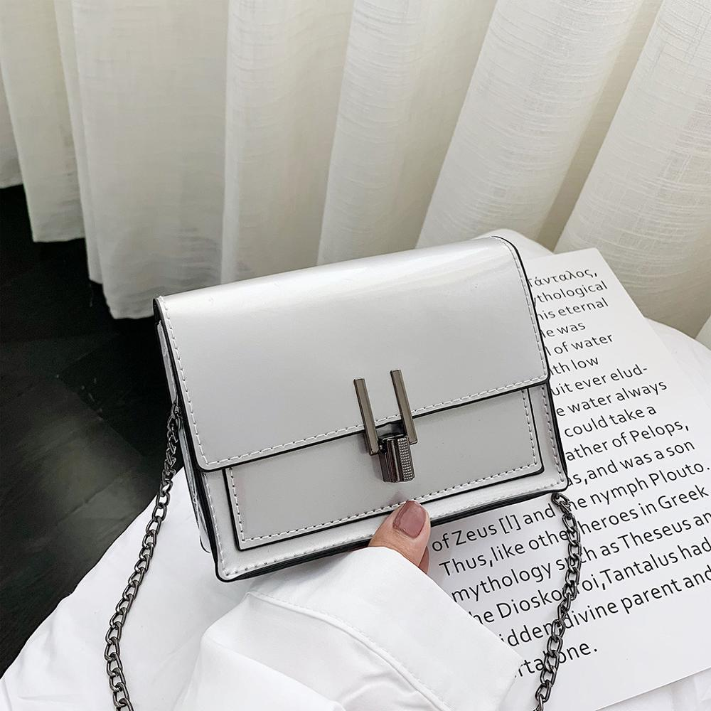 Crossbody-Bag Purses Chain Clutch-Bags Messenger-Bag Flap Small Evening Mini Women Hasp