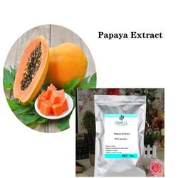 Poudre organique naturelle de papaïne d'extrait de papaye d'enzyme de papaïne 50:1 amélioration de sein de fructus chaenomelis lagenariae, blanchissant