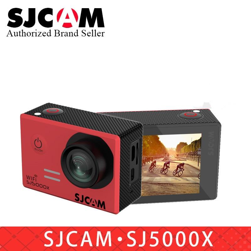 Оригинальная Экшн-камера SJCAM SJ5000X Elite Gyro NTK96660 WiFi 4K 24fps 2K 30fps для дайвинга 30 м Водонепроницаемая SJ-камера 5000 Спортивная Автомобильная DV