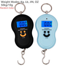 Pocket-Scale Hanging-Balance Kitchen-Weighing-Tool Fishing-Steelyard Backlight with 40%Off