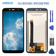5.5 inç 1440*720 Blackview BV5500/BV5500 Pro lcd ekran + dokunmatik ekran % 100% test ekran Digitizer meclisi yedek
