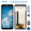 5,5 дюймов 1440*720 для Blackview BV5500/BV5500 Pro ЖК-дисплей + сенсорный экран 100% протестированный экран дигитайзер сборка Замена