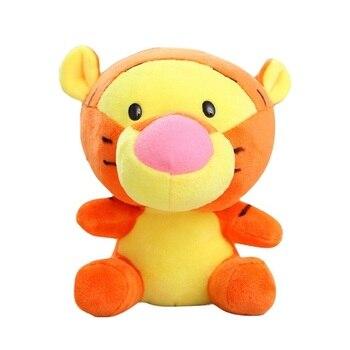 Disney 12-18cm Winnie the Pooh Bear Anime Cute Cartoon Plush Dolls Toys Keychain Pendant Kids Birthday Gift 5