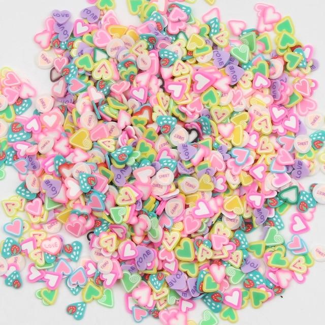 1000Pcs Argile Polymère Fleur Artisanat Flatback Scrapbooking for embellissements