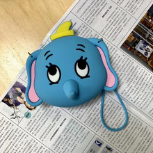 Drop Ship Earphone Case Waterproof Silicone Stereo Headset Mini Zipper Earphone Headphone SD Card Storage Bag Box Carrying Pouch