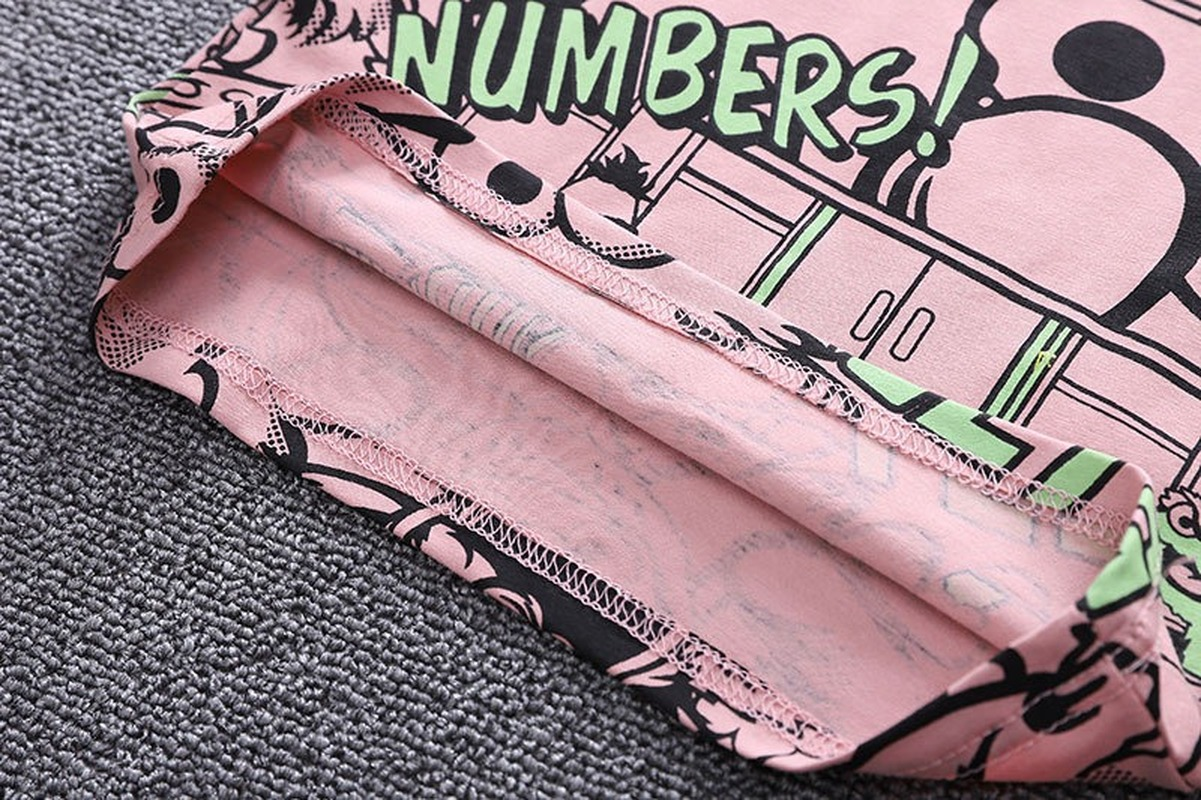 Boys Summer Clothing 2021 New O-neck T-shirt with Denim Shorts 2 Pieces Short-sleeved Sets Children Baby Summer Graffiti Clothes 5