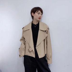 Image 5 - Rosa java qc20003 nova chegada real casaco de couro feminino genuíno casaco de couro de ovelha moda de luxo venda quente vestido
