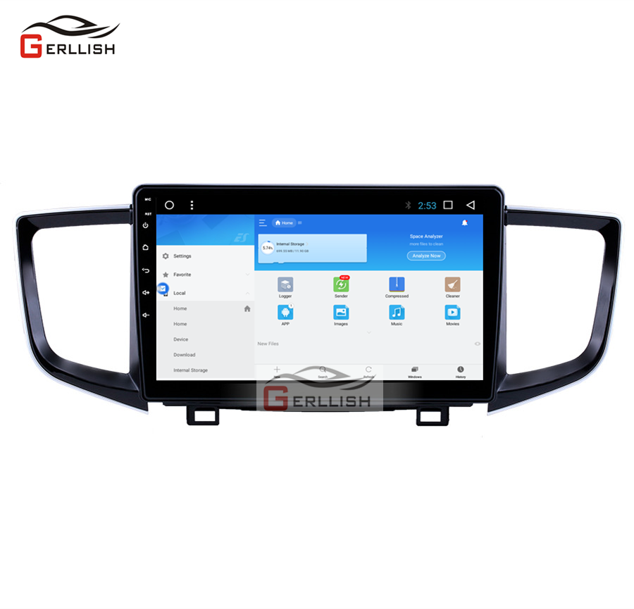 Android Car Radio Multimedia <font><b>for</b></font> <font><b>Honda</b></font> <font><b>Pilot</b></font> 2015-2018 Car Stereo car DVD <font><b>GPS</b></font> Navigation System image