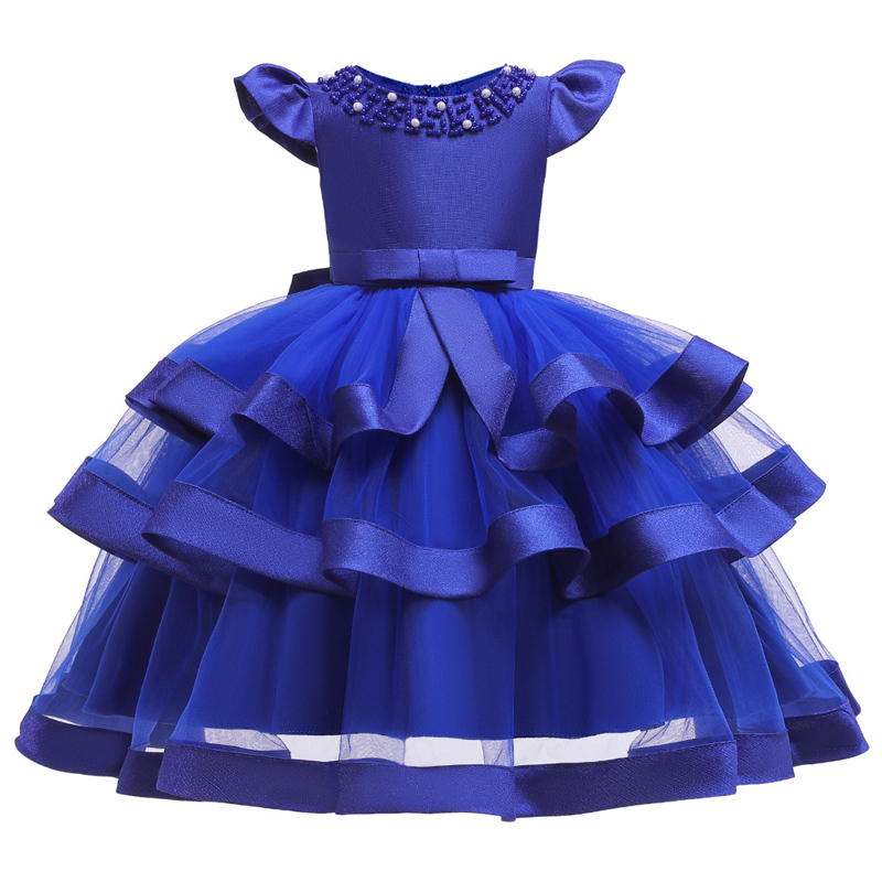Girls Dress Elegant New Year Princess Children Party Dress Wedding Gown Kids Dresses for Girls Birthday Party Dress Vestido Wear 5